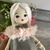 Luna, Hand Made Doll, Jo Doll Collection, Dress Up Cloth Doll, My First Rag