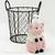 Ceramic Pink Pig Kitchen Soap Dispenser or Bath Vanity Pump Dispenser Bottle for