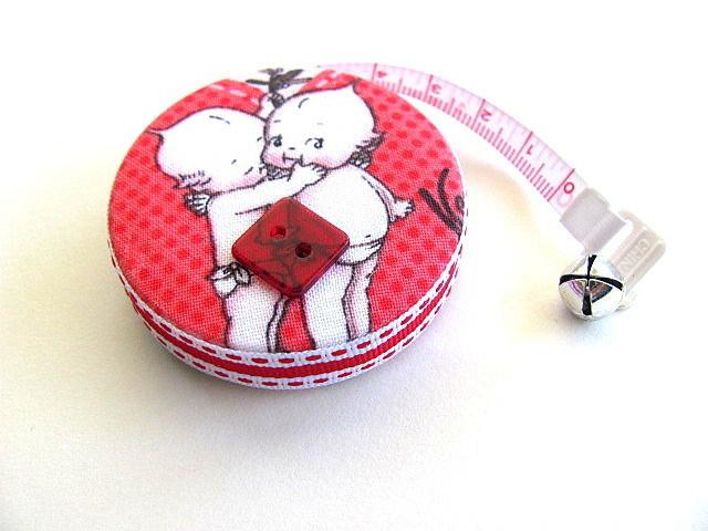 Tape Measure Kewpie Dolls Retractable Measuring Tape