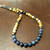 EXPRESS SHIPPING - Mens Healing Stones Necklace Blue Dumortierite, Hematite