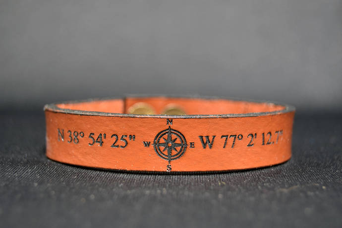 EXPRESS SHIPPING - Personalized Latitude Longitude Coordinate Bracelet, Custom