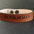 EXPRESS SHIPPING - Personalized Leather Bracelet, Custom Engraved Leather