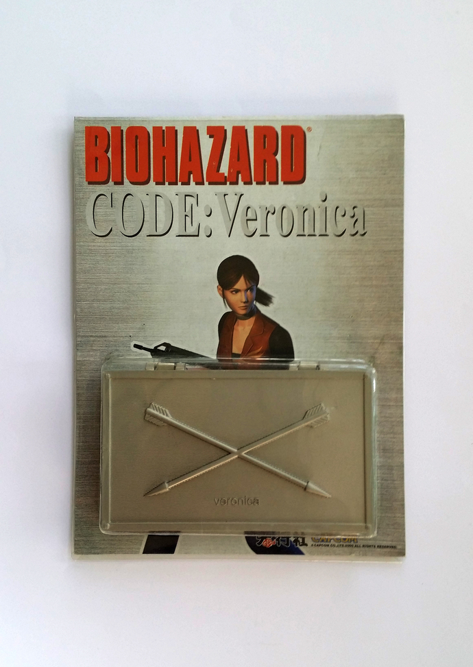 Hong Kong Comic BIOHAZARD Code: Veronica Black Arrows w/ Silver Metal Box Set