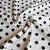 Polka dot printing bamboo cotton linen fabric