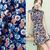 Daisy Print Twill Chiffon Fabric