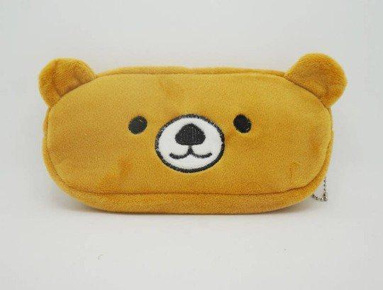 Pencil case brown bear