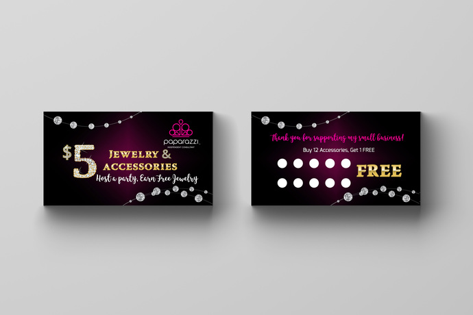 Paparazzi Accessories Loyalty Card- Diamonds 1