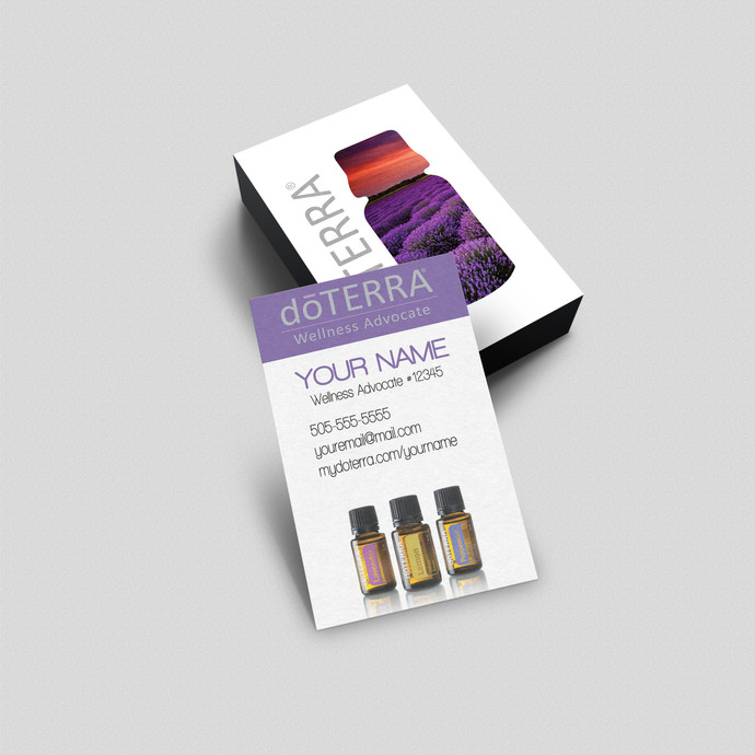 doTerra Business Card - Vertical cards