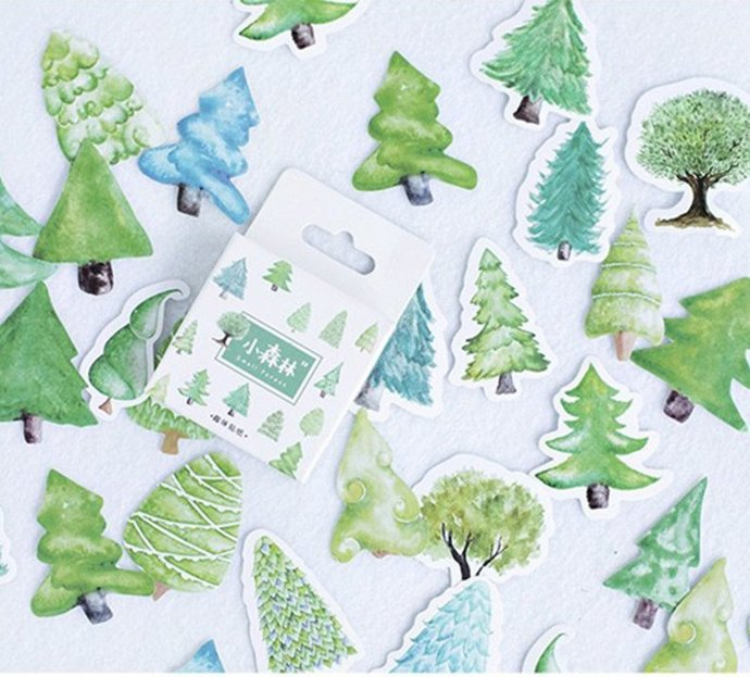 Stickers small forest