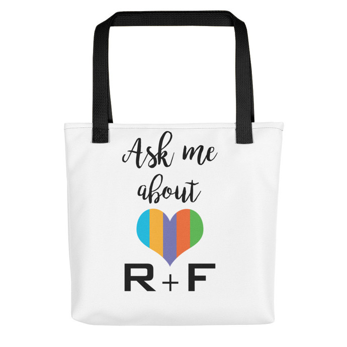 Ask me about R+F Tote Bag -1