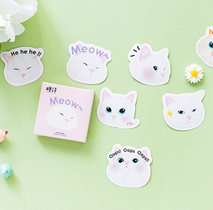 Stickers meow
