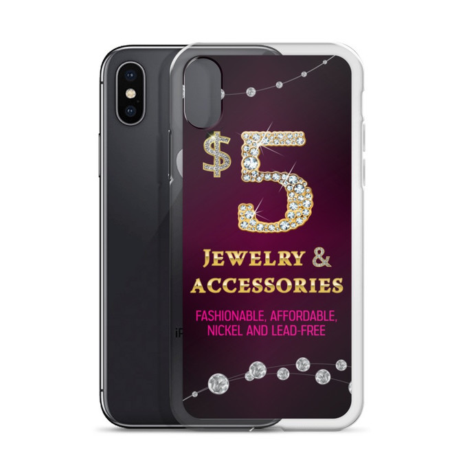 Paparazzi iPhone case- Jewelry consultant- Iphone X, Iphone 7/8 -7 plus/8plus