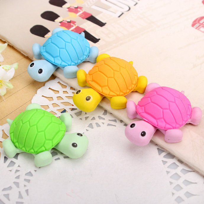 Eraser nice turtle-shaped rubber