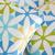 Set of Three Petite Lavender Sachets | Modern Retro Daisies | Blue & White