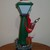Frank E Post Musical Lighted Christmas Lamp Stand Sings 1997 RARE