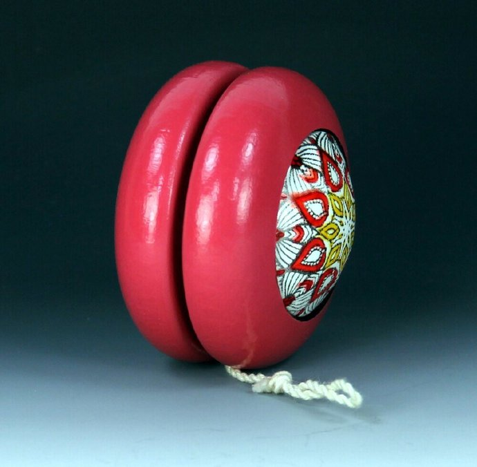 Vintage Parker Pro Wood YoYo, Imperial Fixed Axle, Customized by YoYoSpin