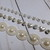 1 yd Off White Pearl Rhinestone Bling Trim