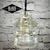 Glass Insulator Light -  Pendant Light - LED Insulator Lights - Clear Hemingray