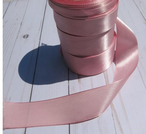 stl 1 yd Silk Satin Ribbon - Shabby Pink
