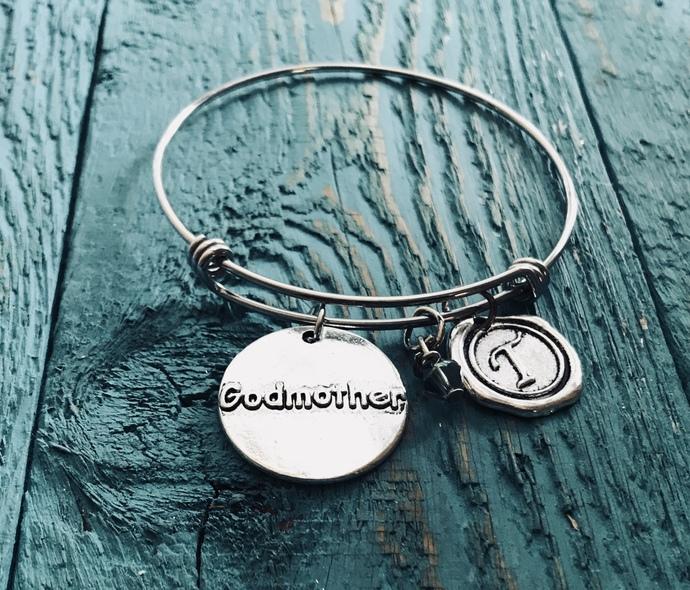 SALE, Godmother, Gift for Godmother, Godmother Bracelet, Baptism, Godmother