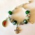 SK Rider football themed 13th man bead charm bracelet
