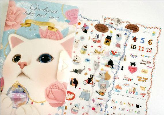 Stickers Choo Choo cat