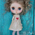 SALE! Red heart dress for MIDDIE Blythe doll outfit by Petite Apple