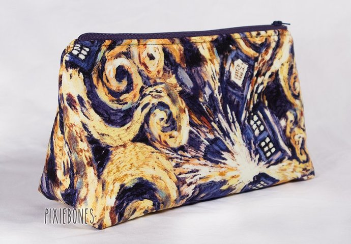 Tardis Cosmetic Bag