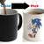 Sonic The Hedgehog Color Changing Ceramic Coffee Mug CUP 11oz