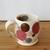 Handmade Ceramic Mug with Pink Polka Dots