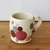 Handmade Ceramic Mug with Pink Polka Dots