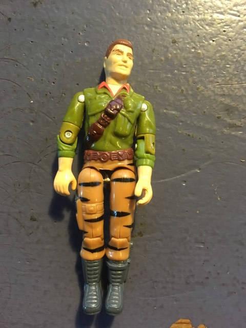 """Duke G.I. Joe 3.75"""" Loose Action Figure  Hasbro 1988"""
