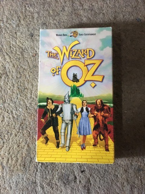 The Wizard of Oz VHS 1998