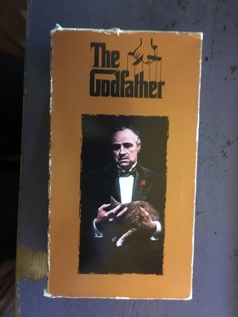 The Godfather 2 VHS Movie 1972