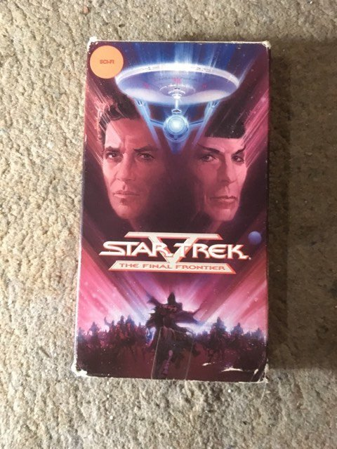 Star Trek The Final Frontier VHS 1996