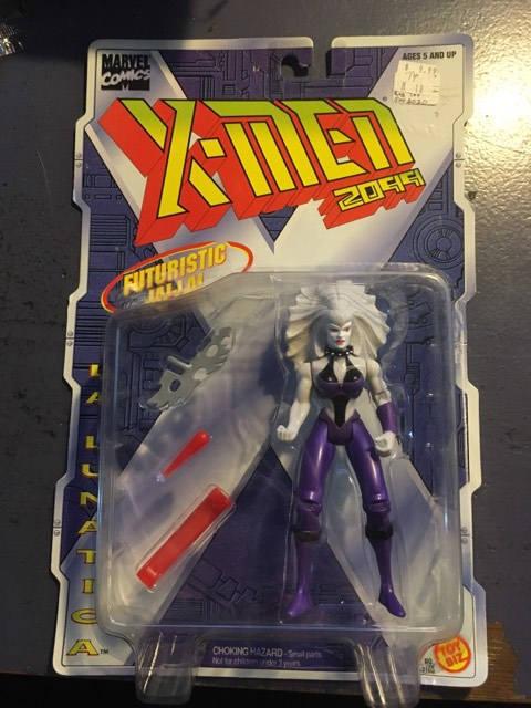 La Lunatica X-Men Action Figure on Card Toybiz 1996
