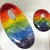 Celebrate your Gay Pride, Create LGBT DIY Jewelry with Handmade Fused Glass Oval