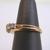 Vintage Estate Women's 14K Gold Diamond Anniversary Ring, 4.8g E867