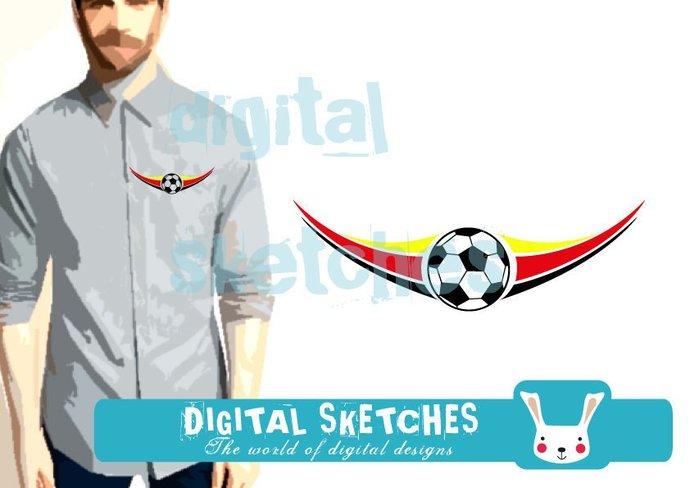 Soccer Sport Ball Cut File .SVG .DXF