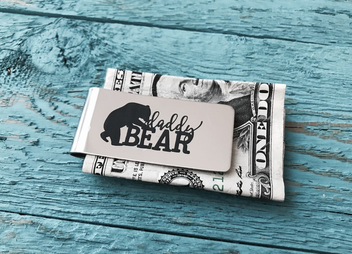 Daddy Bear, Gifts for Daddy, Daddy est 2017, New Daddy, Dad Gift, Father of the