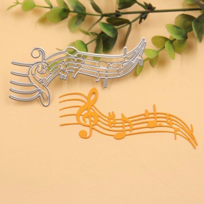 Cutting dies musical score