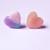 Heart Shaped Resin Rings