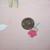 Vintage Laura Ashley Sham Little Girls Dressing Up Std 20x26 Pink Floral Stripes