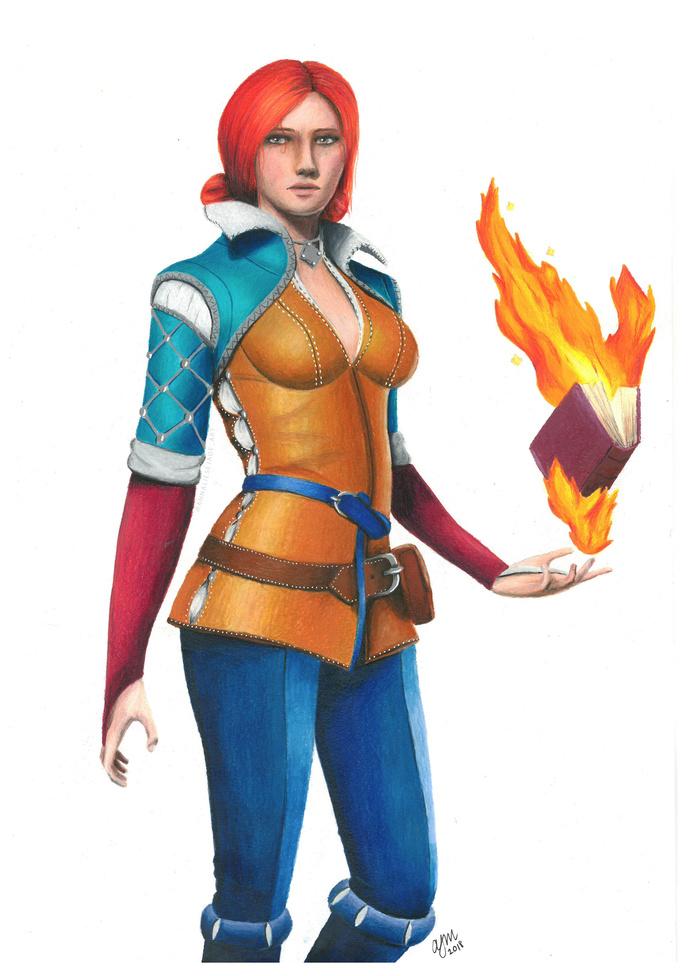 PRINTS - Triss Merigold (The Witcher 3)