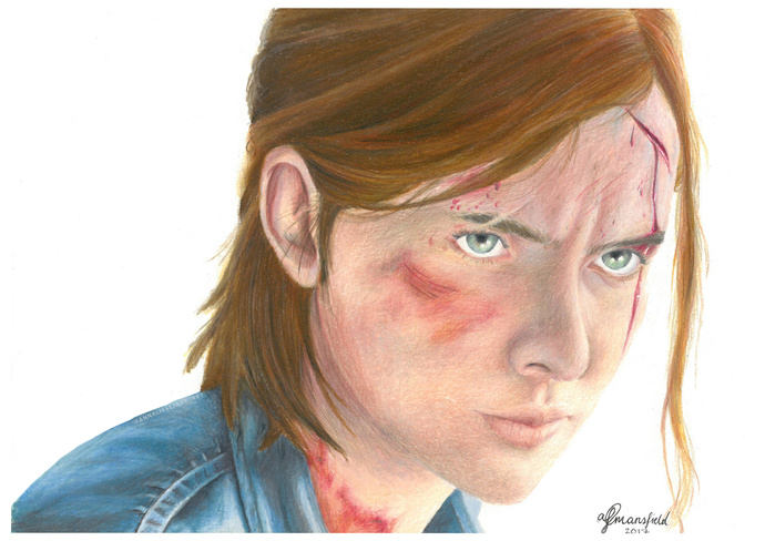 PRINTS - Ellie (The Last of Us)