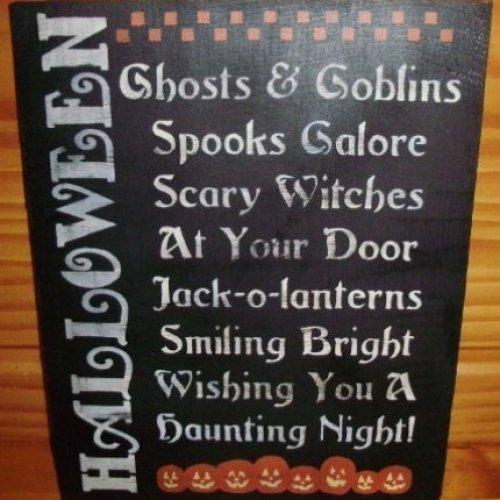 Halloween Decorations witches ghosts jack o lanterns black cats signs signs