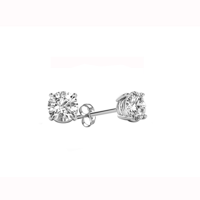 IGI Certified De Couer White Gold 1/4ct TDW Diamond Stud Earrings for Women set