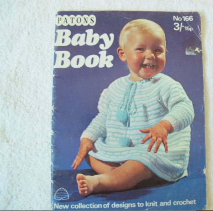 Patons Baby Book No 166 Knit And By Sandrascardandcraftshop On Zibbet