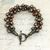 Freshwater Pearl Kumihimo Bracelet