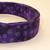 Dark Purple Dots Adjustable Dog & Cat Collars & Martingales & Leashes